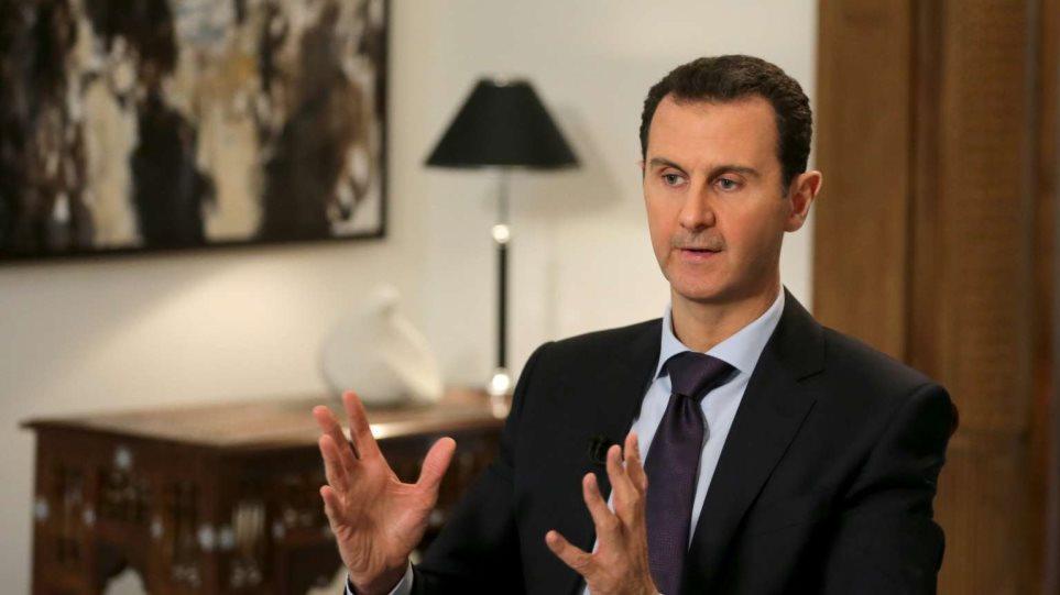 Άσαντ: Οι επιτυχίες του συριακού στρατού θα επιταχύνουν την πολιτική επίλυση