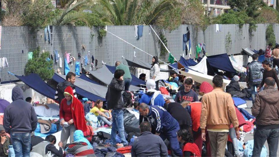 Μετανάστες ζητούν άσυλο για να μην γυρίσουν Τουρκία