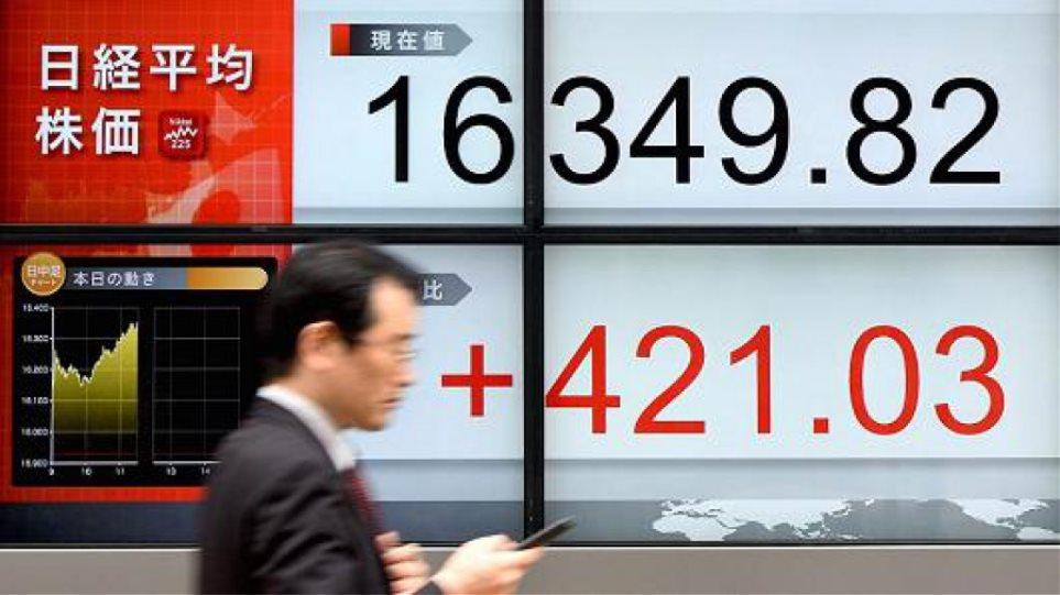 Σε υψηλό 4 μηνών οι ασιατικές αγορές - Ράλι 3% για τον Nikkei