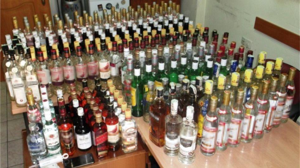 Χαλκιδική: Διέθεταν λαθραία οινοπνευματώδη ποτά στους πελάτες τους