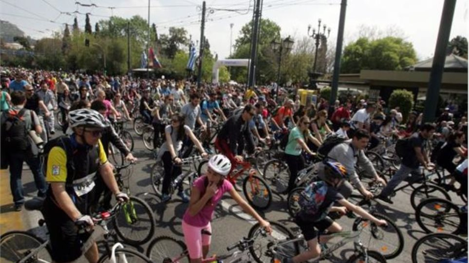 Πάνω από 15.000 αθλητές θα συμμετάσχουν στον 23ο ποδηλατικό γύρο Αθήνας