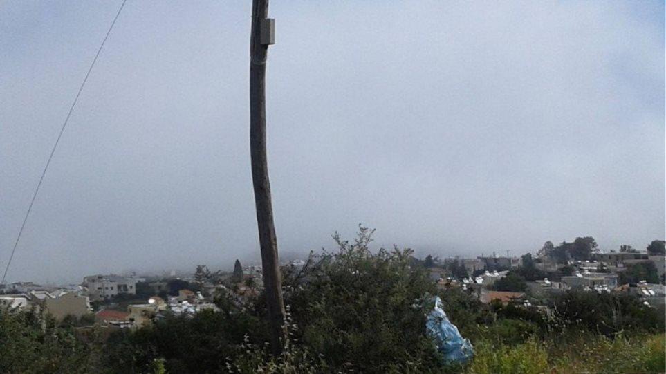 Εικόνες: Δείτε την πυκνή ομίχλη που κάλυψε τα Χανιά