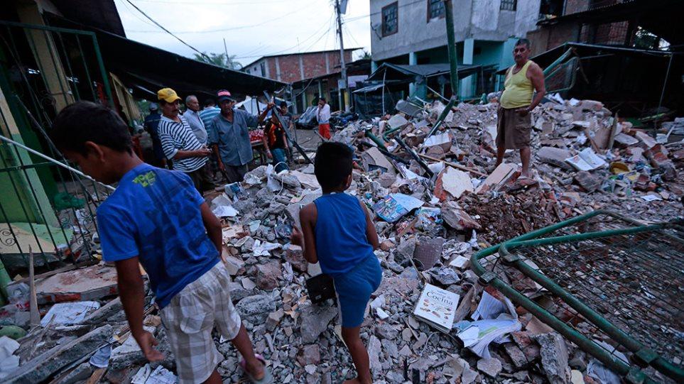 Φονικός σεισμός 7,8 «ισοπέδωσε» τον Ισημερινό - Στους 235 οι νεκροί