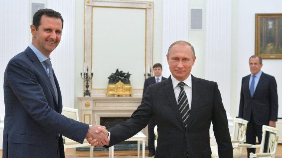 Πούτιν σε Άσαντ: «Δεν θα σε αφήσουμε να χάσεις τον πόλεμο»