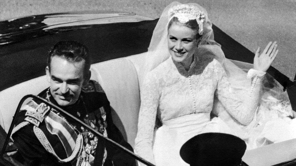 Γκρέις Κέλι- Πρίγκιπας Ρενιέ: Πριν από 60 χρόνια έγινε ο παραμυθένιος γάμος τους