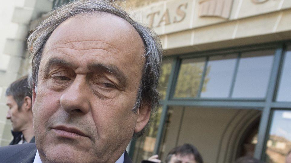 Παραιτήθηκε ο Πλατινί από την UEFA