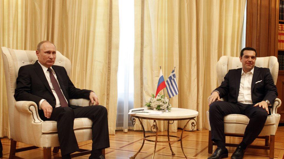 Πούτιν: Περιθώριο συνεργασίας σε ενέργεια, υψηλή τεχνολογία, υποδομές, επενδύσεις