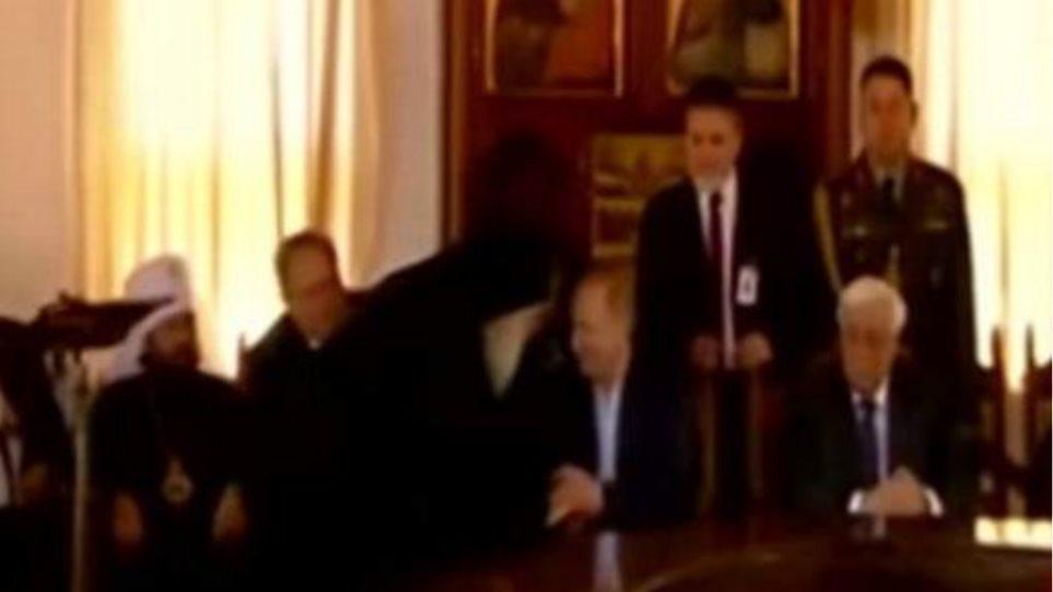 Ο Πούτιν συναντήθηκε και με τον Εφραίμ