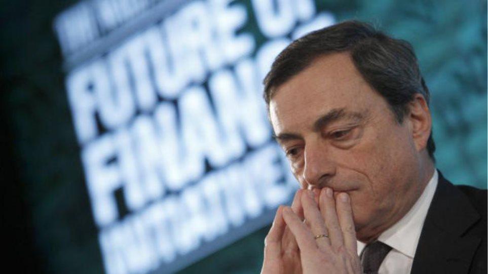 Ντράγκι: Υπάρχουν πολιτικοί λόγοι για την καθυστέρηση των μεταρρυθμίσεων
