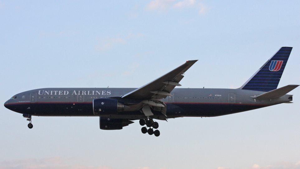 Διπλό θρίλερ στον αέρα σε πτήση της United Airlines προς τη Νέα Υόρκη