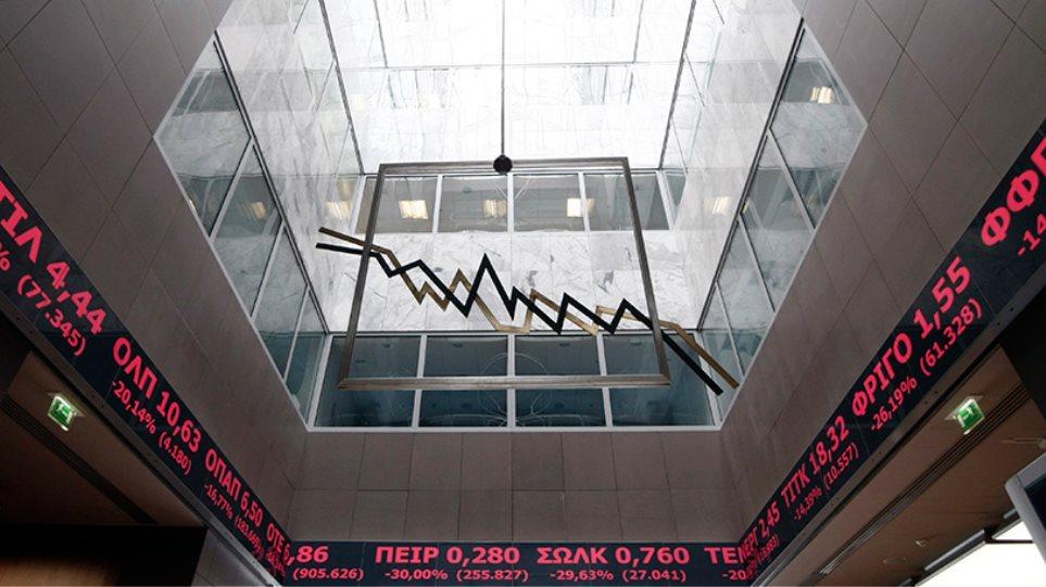 «Κραχ» και -13,4% στο Χρηματιστήριο: Στο -29% οι τράπεζες