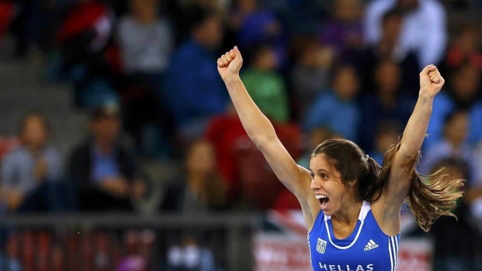 Πρωταθλήτρια Ευρώπης στο επί κοντώ η Κατερίνα Στεφανίδη!