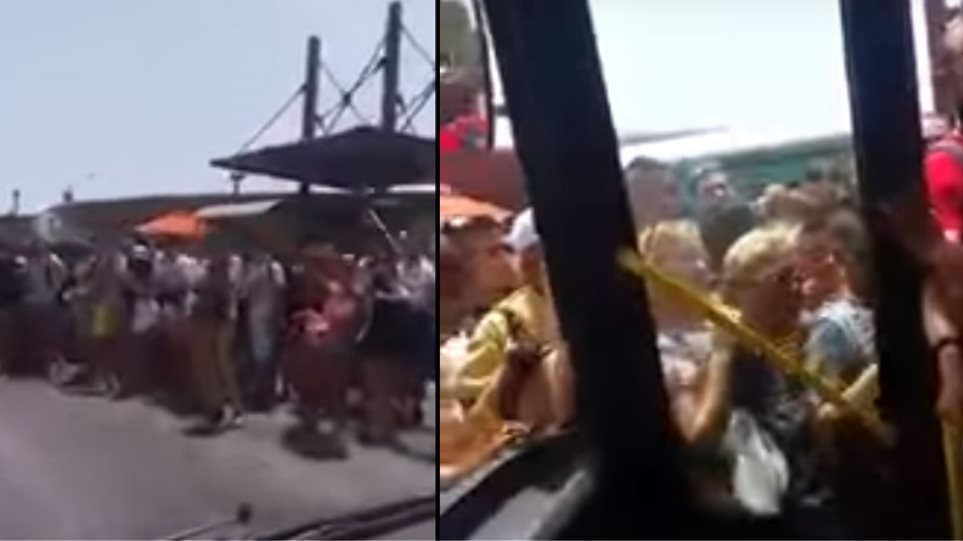 Βίντεο: Δρομολόγιο με το λεωφορείο του τρόμου από το Ελληνικό στη Σαρωνίδα