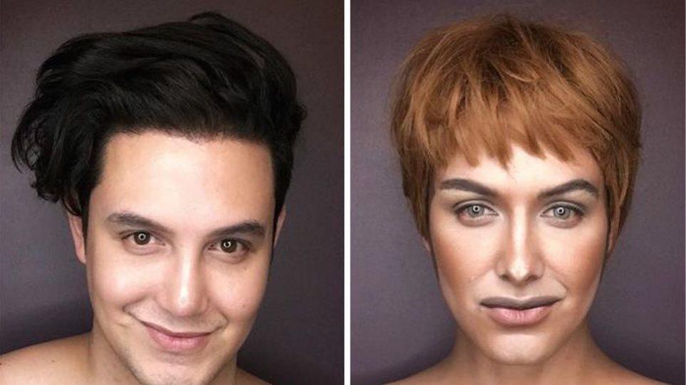 Φωτογραφίες: Φιλιππινέζος μεταμορφώνεται στις ηρωίδες του Game of Thrones μόνο με μακιγιάζ
