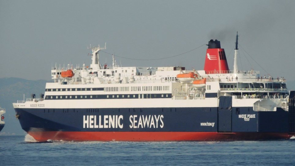 Ολονύχτια ταλαιπωρία για 2.014 επιβάτες του «νήσος Ρόδος» 6be48836ad3
