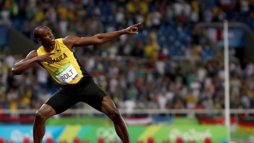 Usain Bolt wins gold in 200m race in Rio