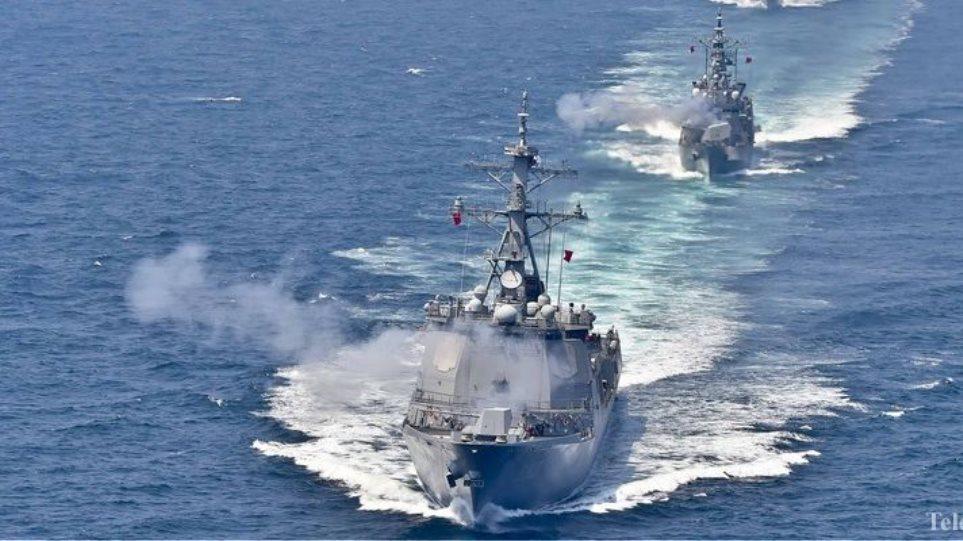 Βίντεο: Για πρώτη φορά οι στόλοι Κίνας - Ρωσίας σε ναυτικές ασκήσεις στον Ειρηνικό