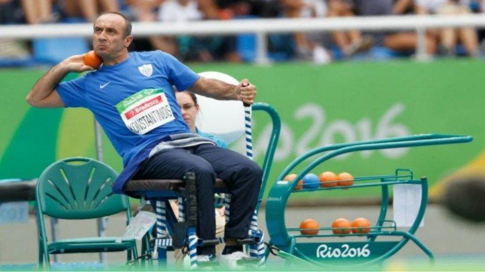 Παραολυμπιακοί: Δεύτερο μετάλλιο για Κωνσταντινίδη, ένατο για την Ελλάδα!