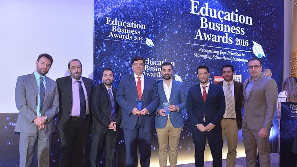 «EDUCATION BUSINESS AWARDS 2016 με διπλή βράβευση για το ΙΕΚ ΑΚΜΗ»