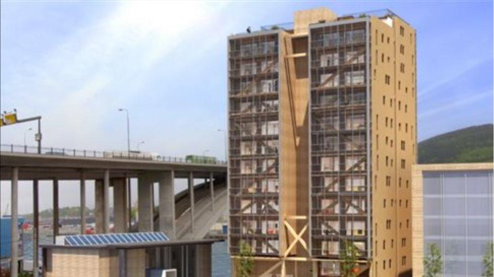 Οι ουρανοξύστες του μέλλοντος θα είναι από ξύλο
