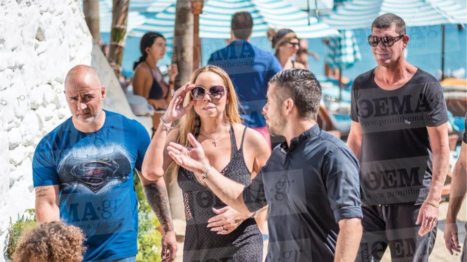 Mariah Carey: Ξεκίνησε τις διακοπές στη Μύκονο παραγγέλνοντας σαμπάνια 5.000 ευρώ