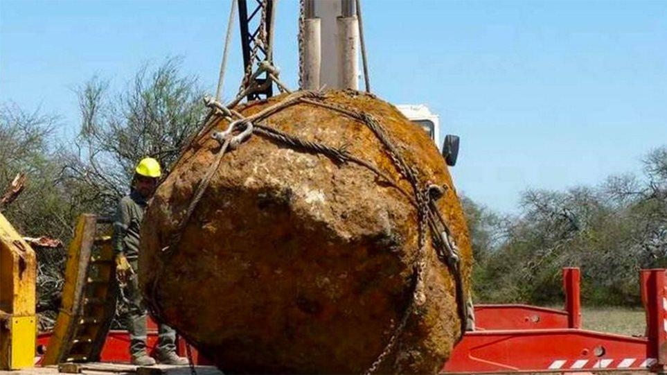 Βίντεο: Ανακαλύφθηκε ο δεύτερος μεγαλύτερος μετεωρίτης στον πλανήτη