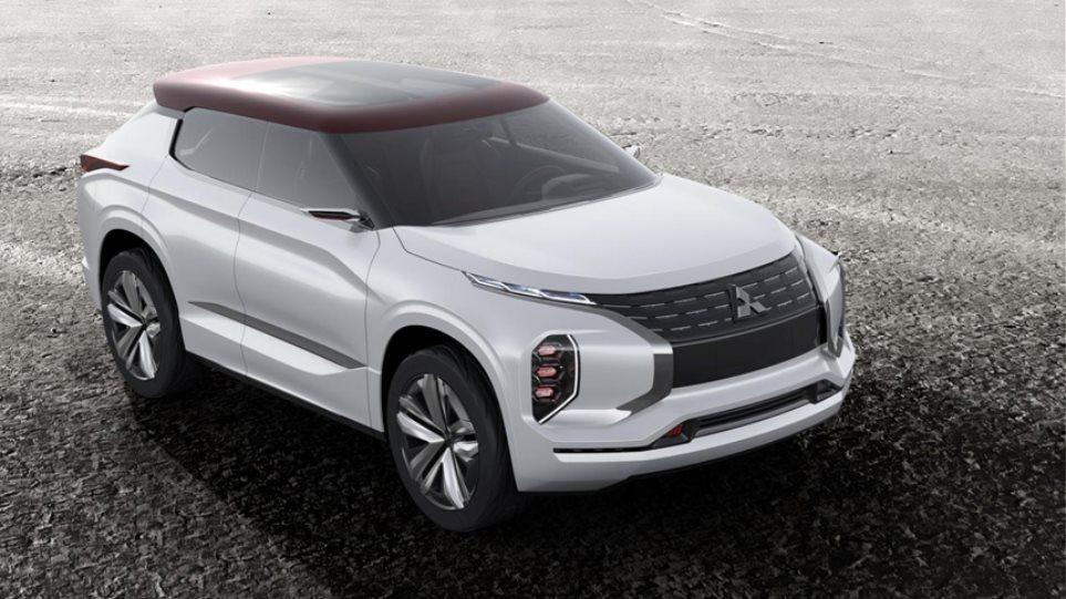 Υβριδικό και τετρακίνητο SUV από τη Mitsubishi