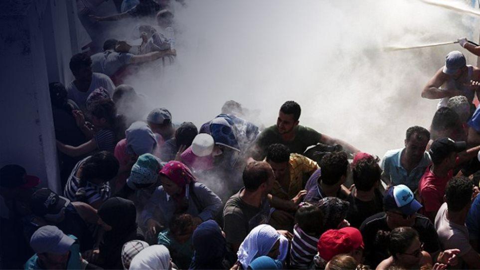 Προσφυγικό: Ταραχές και έκτροπα σε Λέσβο και Χίο