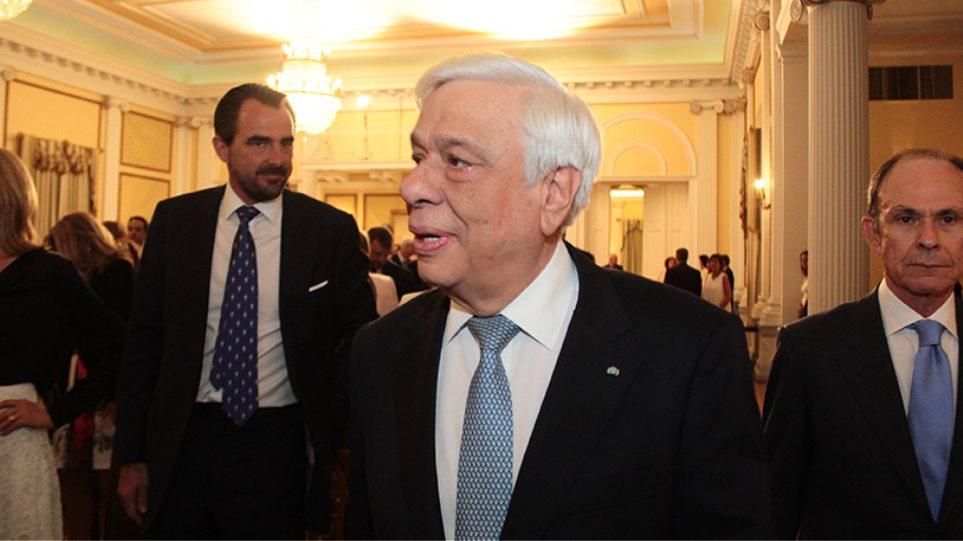 Για πρώτη φορά στο προεδρικό μέγαρο ο Νικόλαος Γλύξμπουργκ