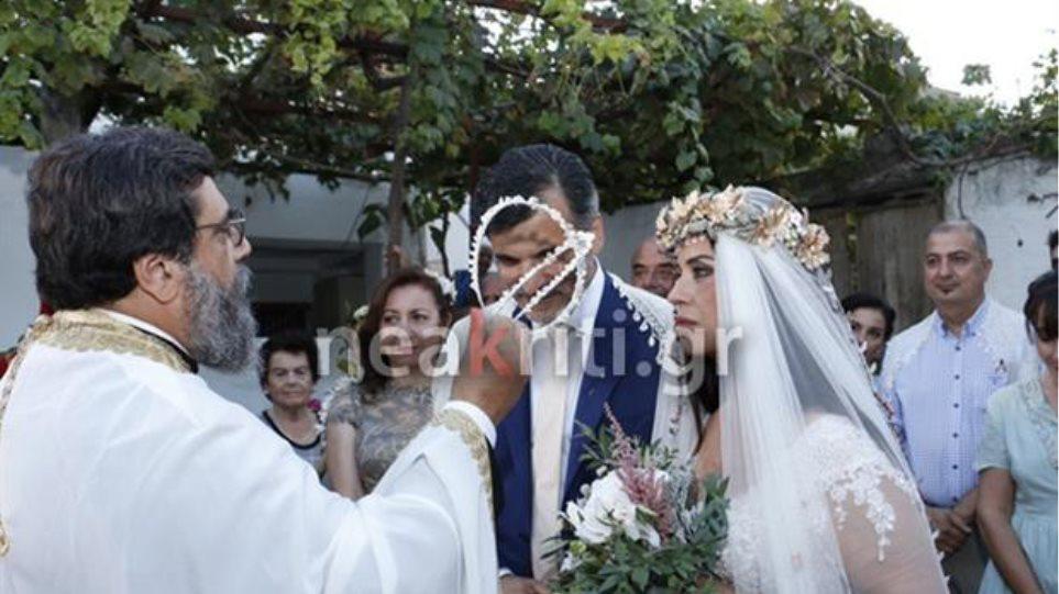 Παντρεύτηκε η ηθοποιός Μαρία Τζομπανάκη - Στην εκκλησία τη συνόδευσε ο γιος της