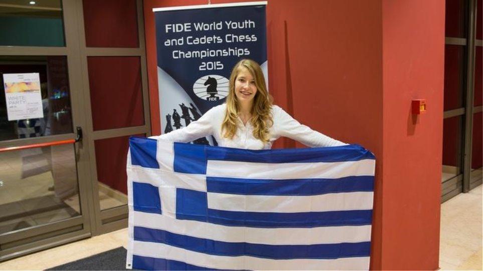 Παγκόσμια πρωταθλήτρια στο σκάκι η 16χρονη Σταυρούλα Τσολακίδου από την Καβάλα!