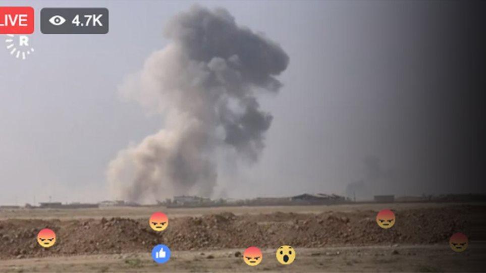 Μάχη της Μοσούλης: Ένας πόλεμος που μπορείτε να κάνετε «like»