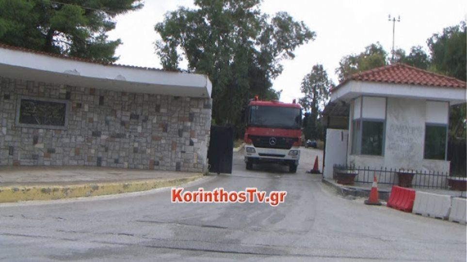 Ένταση με μετανάστες στο κέντρο κράτησης στην Κόρινθο