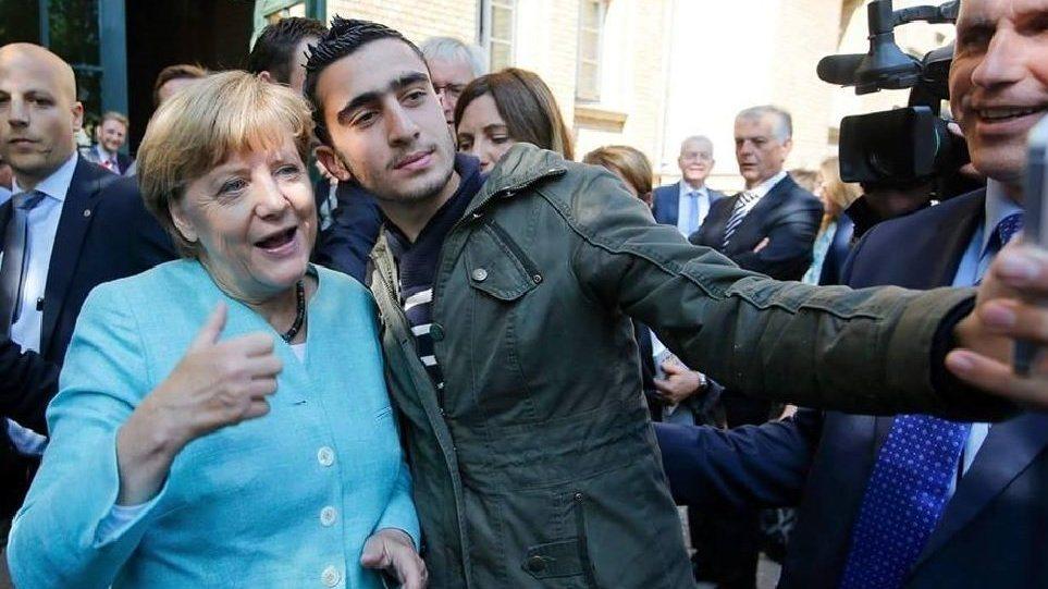 Αποτέλεσμα εικόνας για μετανάστες γερμανία μέρκελ