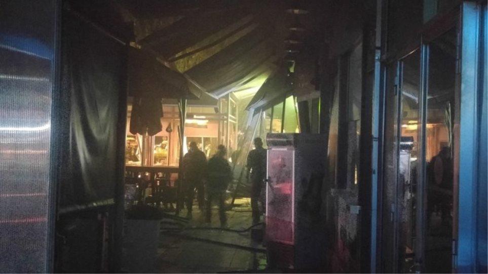 Χανιά: Δύο τραυματίες από πυρκαγιά σε πιτσαρία
