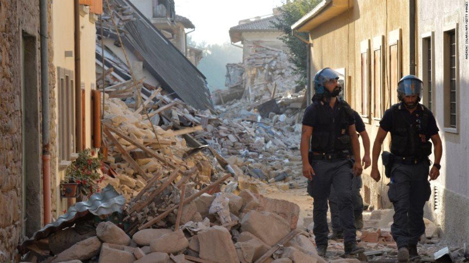 Νέος σεισμός 5 Ρίχτερ στην κεντρική Ιταλία