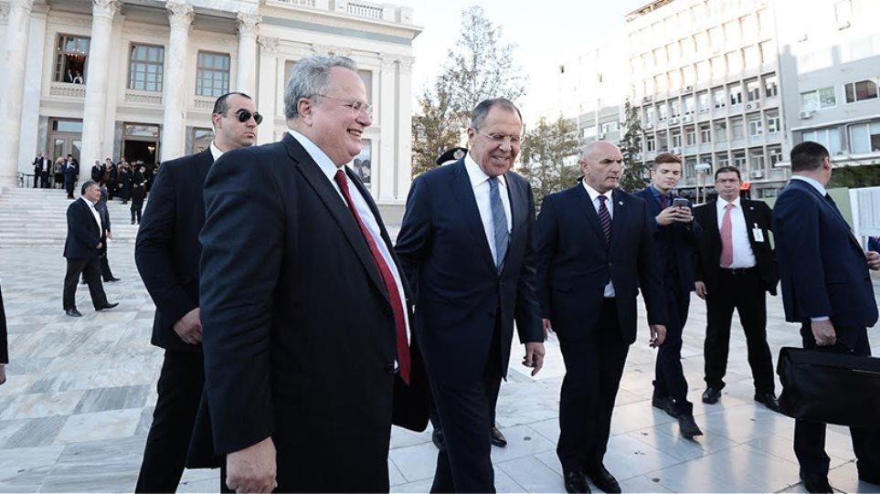Λαβρόφ: Ακούμε ότι φταίει η Ρωσία για την κρίση - Εμείς είμαστε εδώ για την Ευρώπη και την  Ελλάδα
