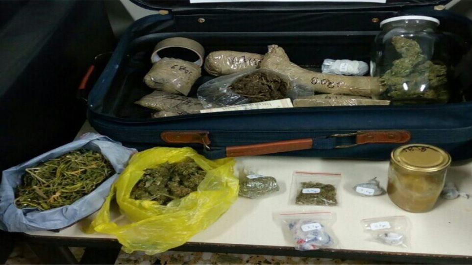 Καβάλα: Έκρυβαν ναρκωτικά σε τέσσερα σπίτια και δυο δάση!