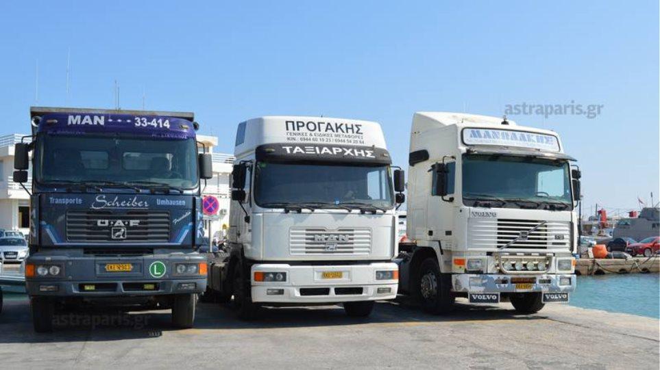 Χίος: Οι οδηγοί φορτηγών ζητούν μέτρα στο λιμάνι για τους πρόσφυγες