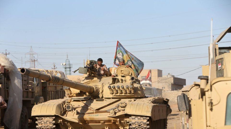 Ιράκ: Ο κυβερνητικός στρατός ελευθέρωσε τέσσερις συνοικίες στη Μοσούλη