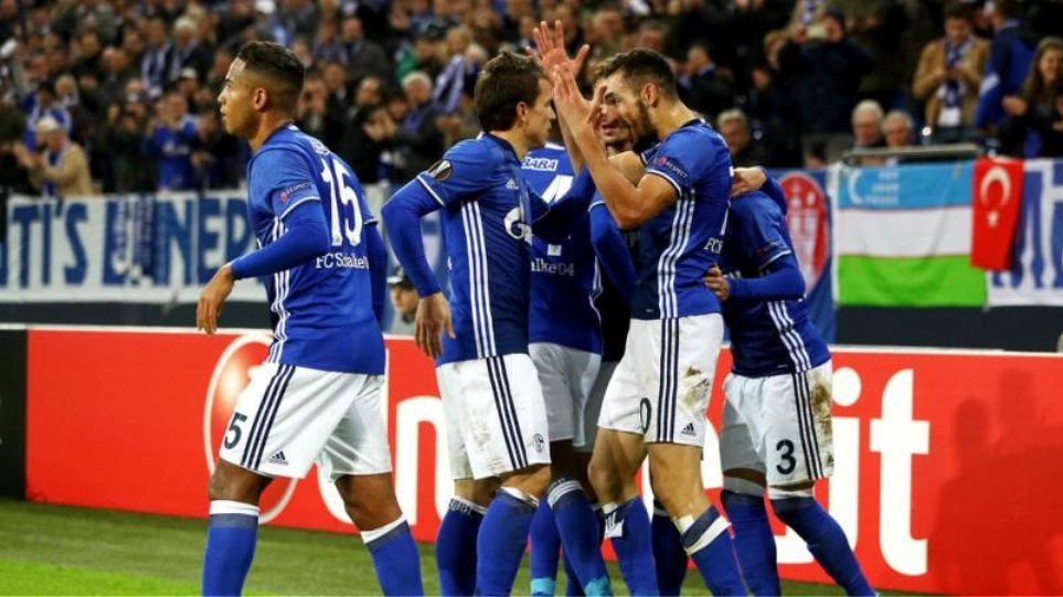 Europa League: Με τρίλεπτο «φωτιά» στους «32» η Σάλκε