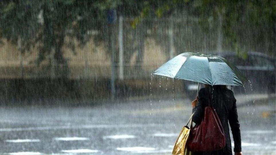 Καιρός: Βροχές και σποραδικές καταιγίδες στο μεγαλύτερο μέρος της χώρας