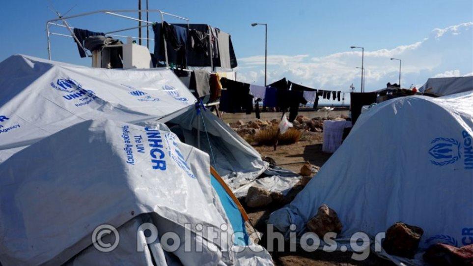 Χίος: Μετά την μπόρα, οι ασθένειες στο hot spot της Σούδας