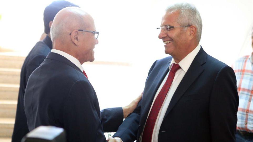 Συνάντηση Κυπριανού - Ταλάτ ενόψει της διαπραγμάτευσης στην Ελβετία