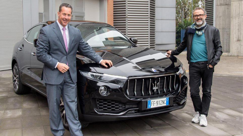 Το πρώτο SUV της Maserati στα χέρια ενός Ιταλού σεφ
