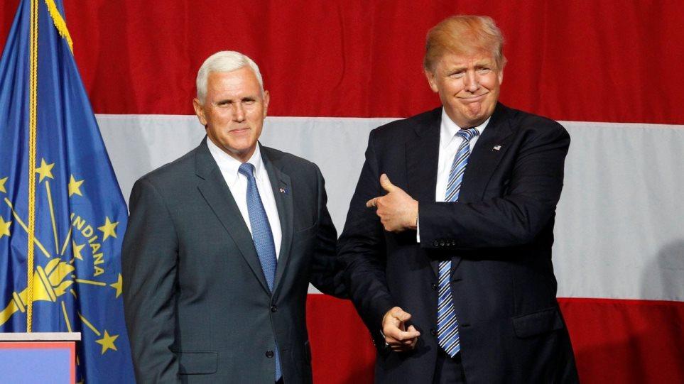 Μάικ Πενς: Θα αποδεχτούμε ένα ξεκάθαρο αποτέλεσμα στις εκλογές