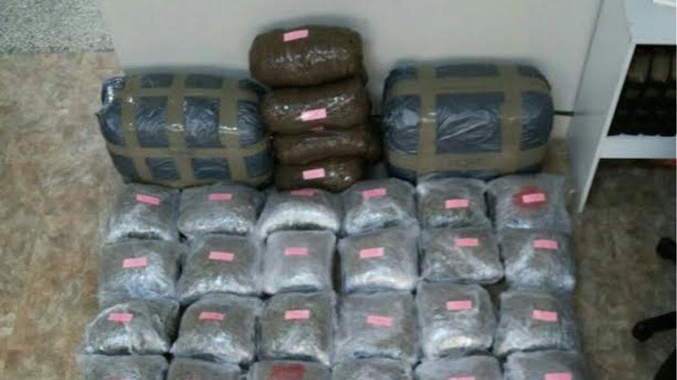 Πέντε Αλβανοί πέρασαν 74 κιλά χασίς από τα σύνορα