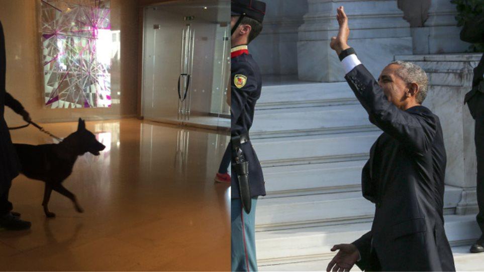 Καρέ-καρέ η επίσκεψη Ομπάμα