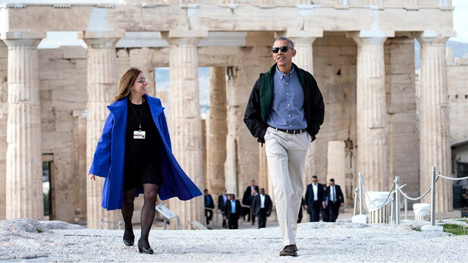 Τι είδε στην Ακρόπολη ο Μπαράκ Ομπάμα