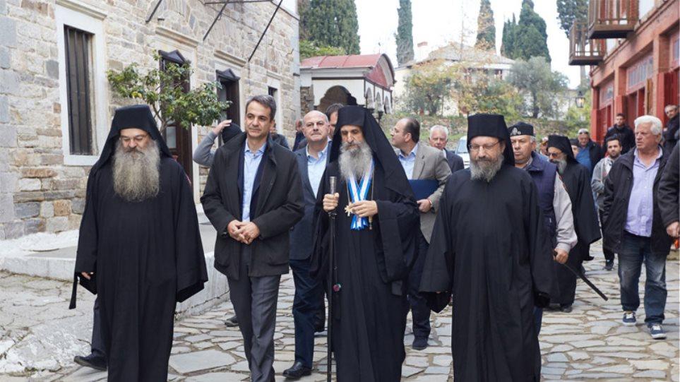 Μητσοτάκης: «Το Άγιο Όρος φάρος ελπίδας για όλους τους Ορθόδοξους»
